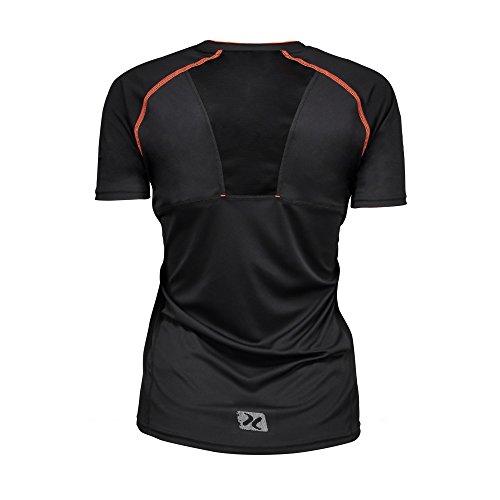 ID Damen Urban Kurzarm T-Shirt Orange