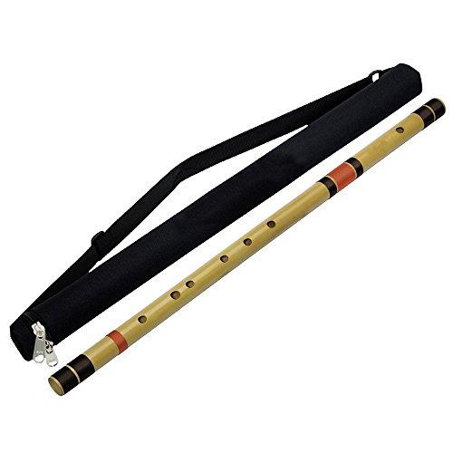 Transversale Base Bambus Flöte Bansuri (F Tune) Holzblasinstrument Musikinstrument für Profis 71 CM