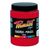 Permaset Aqua Encre pour impression sur tissu Rouge 300 ml