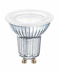 Osram LED Star PAR16 Reflektorlampe, mit GU10-Sockel, nicht dimmbar, Ersetzt 50 Watt, 120° Ausstrahlungswinkel, Warmweiß - 2700 Kelvin, 10er-Pack
