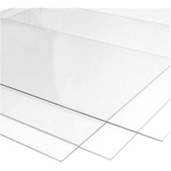 2 0 Mm Ultra Transparent Acrylic Plexiglass Photo Size Sheet Picture Frame Replacement Glass 3x3 Inches Amazon Co Uk Kitchen Home