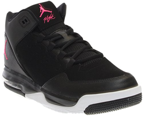 Nike Jordan Kids Flight Origin 2 GG Basketball Shoe Gr. 4 Jahre, Black/Hyper Pink-White (Nike Jordan Flight Damen)