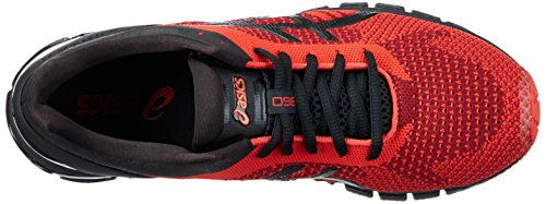 Asics Gel-Quantum 360 Knit, Scarpe Running Uomo Blu (Red/black/onyx)