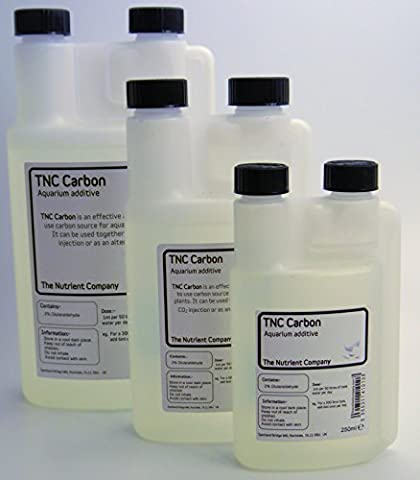 TNC Carbon - Aquarium plant food / Aquatic fertiliser liquid CO2 alternative (500ml)