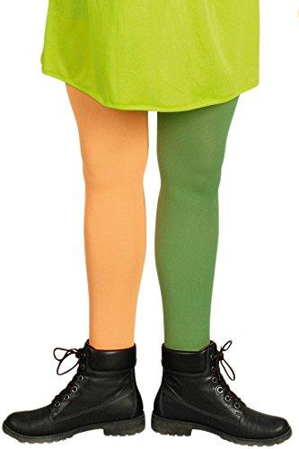 Langstrümpfe, Je 1 grünen + 1 orangen