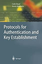 Protocols for Authentication and Key Establishment (Information Security and Cryptography) by Colin Boyd (2010-02-19)