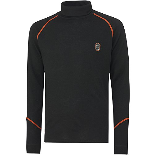 Helly Hansen Workwear, 75076, Multinorm Shirt Fakse Ls girocollo a maniche lunghe, XL, nero