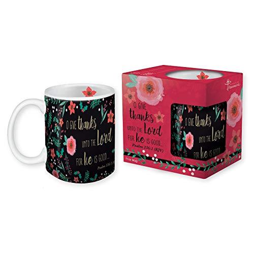 Moments to Treasure Religiöse Weihnachtstasse 325 ml Kaffeebecher mit inspirierender KJV Schrift (Religiöse Reise-tassen)