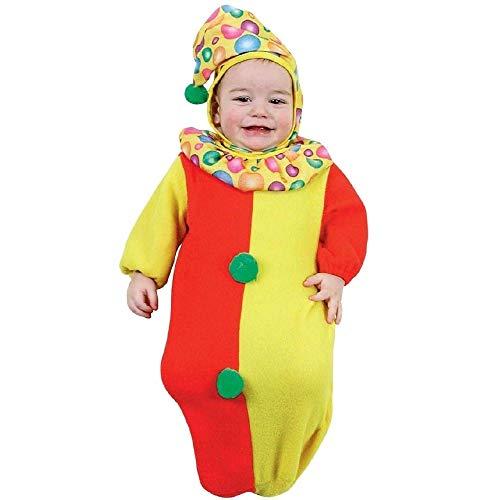 OHNE Marca O GENERICO Kleid Karneval Kleid Baby ALLERCHINO Kostüm Sack Neuheit ()