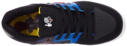 DC - - Junge Männer Reine Tp Low Top Schuhe Black/Battleship/Royal