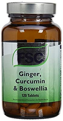 Ginger, Curcumin & Boswellia X 120 Tabletsfsc Double Pack 240 Tablets