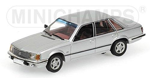 Minichamps 400045101 - Maqueta Opel Senator 1980 1:43, Color Plateado