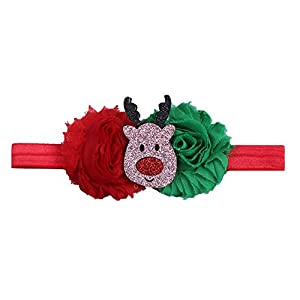 Cute Baby Toddler Infant Headband Christmas Stretch Hairband Photo Prop Gift