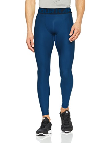 Under Armour Herren HG 2.0 Leggings, Moroccan Blue/Academy, L