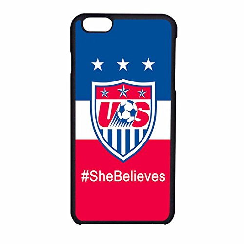 Shebelieves Uswnt Case Cover / Color Nero Plastic / Device iPhone 6/6s