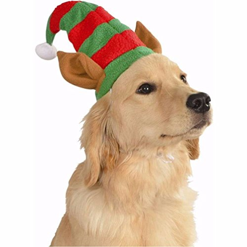 Schäferhund Kostüm - Elf Hat With Ears Pet Costume-Medium