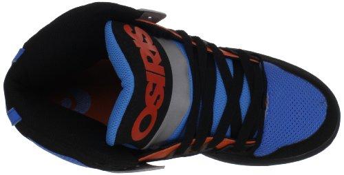 Osiris NYC'83- 602177, Scarpe da Skateboard unisex adulto Nero (Schwarz (black-grey-orange))