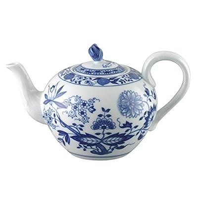 Hutschenreuther 02001-720002-14230 Théière 3, Porcelaine, Bleu, 24,3 x 20,9 x 13,4 cm