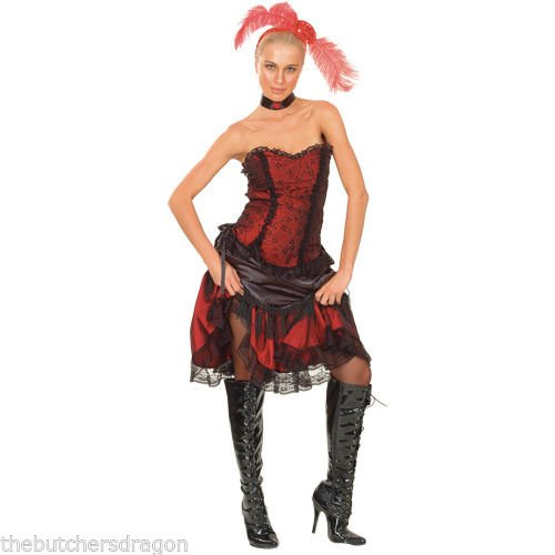 üm - Damen - Wilder Westen/Moulin Rouge - Einheitsgröße ()