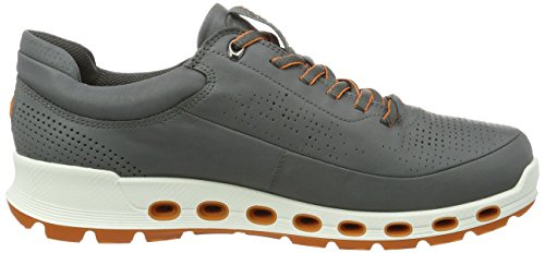 Ecco Cool 2.0, Low Athletic Sneakers Sneakers Gris (1602dark Shadow)