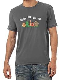 TEXLAB - Angry Plants - Herren T-Shirt