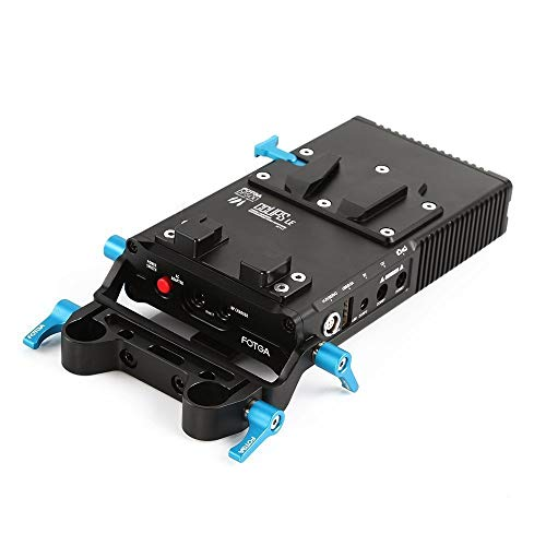 Fotga DP500III V Mount V Lock Platte Akku Halterung Ladegerät Power Supply Standard BP Batterie Plate für Camcorder DSLR Filmmaking System A7R A7S II III NEX7 A7RIII A7SIII A9 GH4 GH5 GH5S BMPCC BMCC -
