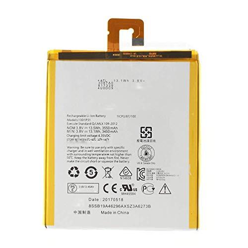 onlyguo 3.8V 3450Mah L13D1P31 Reemplazo de batería del portátil Lenovo Tab 2 A7-10 A7-20 Tab 3 7-10F 7-10L 730X A7-10F A7-10L L13D1P31