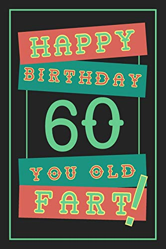 60th Birthday Gift Lined Journal Notebook