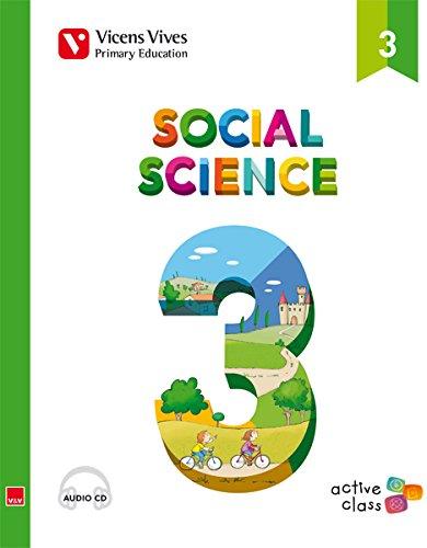 Social Science 3 + Cd (active Class) - 9788468215679