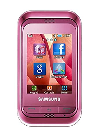 Samsung Champ C3300i Sweet Pink Smartphone 1.3 MP Kamera 3300i Ohne Simlock