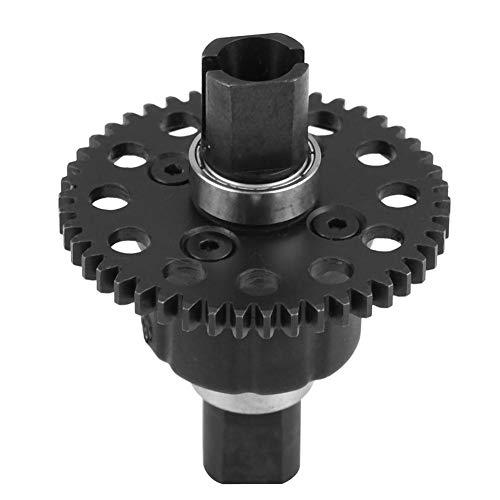 Dilwe RC Differentialgetriebe, Kunststoff-Metall-Differential-Modell Fahrzeug Zubehör für RC-Fahrzeuge( 46T 1.0Mo Stahlgang) -
