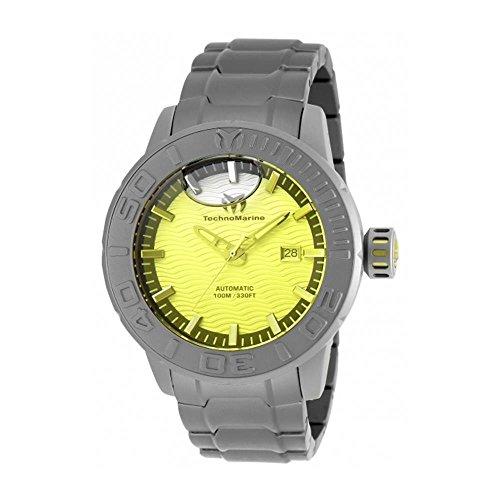 technomarine-reef-herren-armbanduhr-48mm-armband-titan-grau-gehause-automatik-analog-tm-516001
