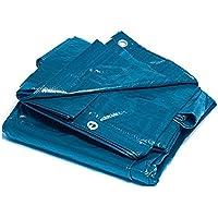 Bcalpe 305284 Toldo Rafia plastificado, Azul, 8 x 12 m