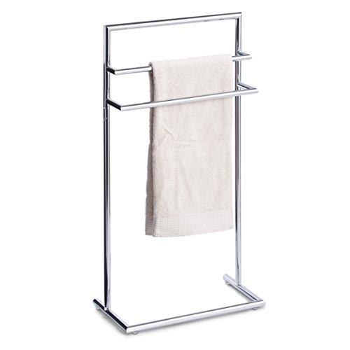 prezzo Zeller 18424 – Porta asciugamani da pavimento, cromato, 43,5 x 23 x 83 cm