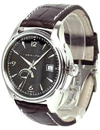 Hamilton H32519535 - Reloj analógico de caballero automático con correa de piel negra - sumergible a 50 metros