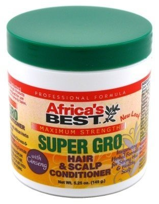 Africa's Best Super Gro Hair & Scalp Conditioner, Maximum Strength, 5.25 oz by Africa's Best