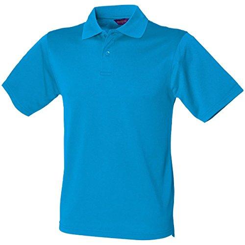 HenburyHerren Poloshirt Blau - Saphirblau