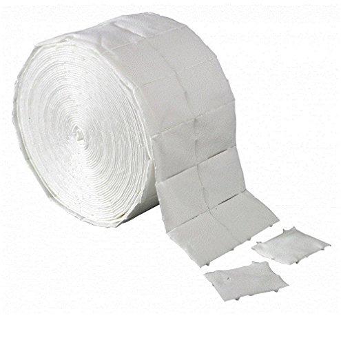 1 rotolo pad cellulosa pretagliata per ricostruzione unghie 500 pz