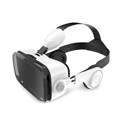 LRXHGOD 3D Karton Helm Virtual Reality VR Brille Headset Stereo Box für 4-6 'Handy