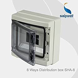 GENERIC Hot Sale Best ip65 HA-8WAYS Waterproof Power Distribution Box High Quality