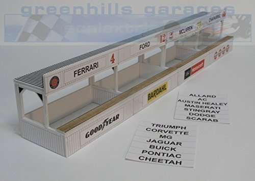 Greenhills Scalextric Slot Car Building Kit American