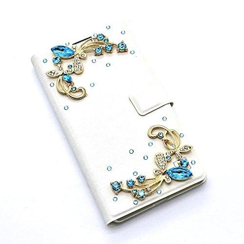 Vandot 3D Bling Gliter Custodia in Strass per iPhone X / iphone 10 Cristallo Diamante Bumper Shell Cover Rigida,Grande Capacità Case con Cinghie di telefono + Hairball x 1 - Handmade del diamante di B Strass 29