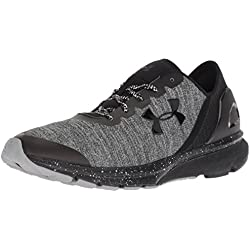 Under Armour UA Charged Escape, Zapatillas de Running para Hombre, Negro (Black), 42.5 EU