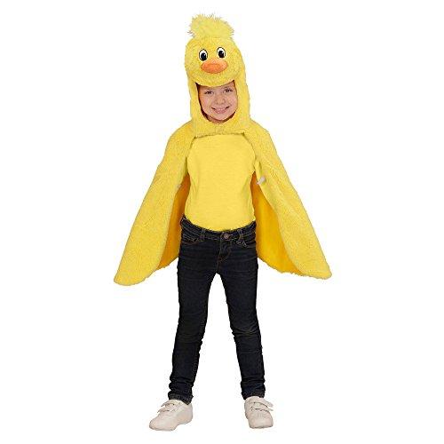 Hahn Kostüm Baby - Widmann - Kinderkostüm aus Plüsch, Umhang mit Kapuze und Maske