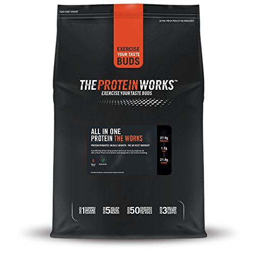 41YPntqpbKL - THE PROTEIN WORKS All In One Advanced Protein Powder Shake, Chocolate Silk, 1 kg