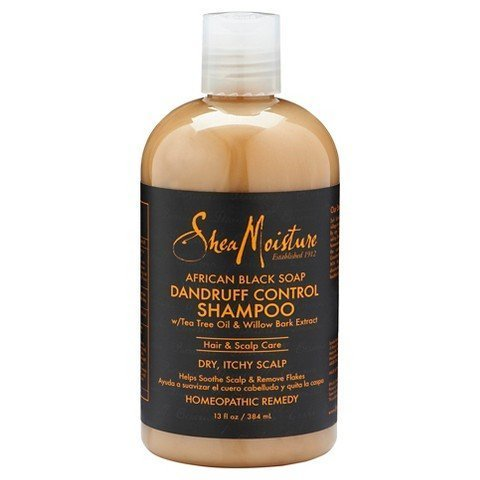 SheaMoisture African Black Soap Dandruff Control Shampoo, 13 Ounce by Shea Moisture