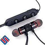 #9: Magnetic Bluetooth Waterproof Attractive Headphone with Noise Isolation
