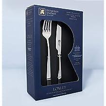 Richardson Sheffield LUXURY 18,10 - Juego de cuchillos de acero inoxidable (12 piezas