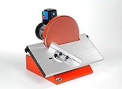 Hegner Scheibenschleifmaschine HSM 300 (für Holz, Kunststoff, Metall; Scheiben-ø 300 mm; Schleiftisch 45° schwenkbar) 6400000