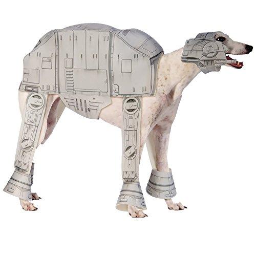 Star Kostüm At Wars Hunde At - Rubie's Star Wars ATAT Imperial Walker Haustierkostüm, Größe L